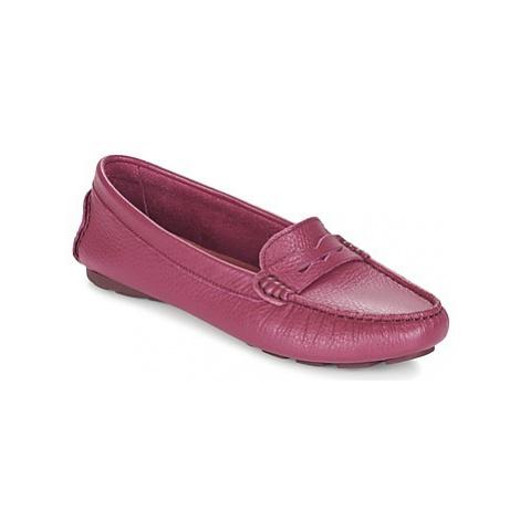 Heyraud EDWINA women's Loafers / Casual Shoes in Purple