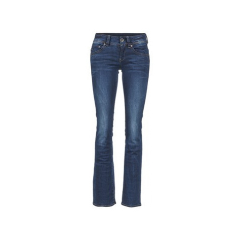 G-Star Raw MIDGE SADDLE MID BOOTLEG women's Bootcut Jeans in Blue