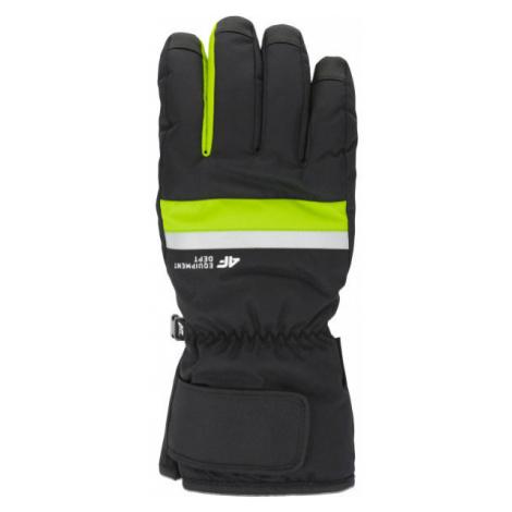 4F SKI GLOVES light green - Ski gloves