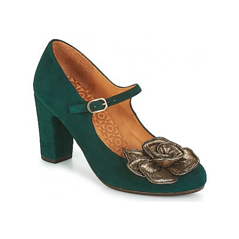 Chie Mihara KINOA women's Court Shoes in Green