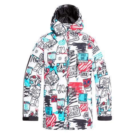 jacket DC Retrospect - WBB7/White Youth Mini Ply Print - boy´s