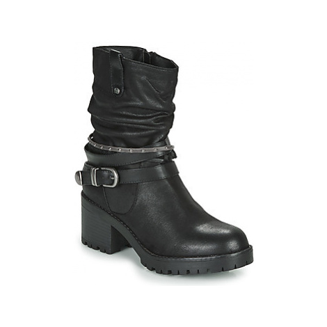 MTNG - women's Low Ankle Boots in Black