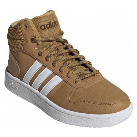 adidas HOOPS 2.0 MID brown - Men's leisure shoes