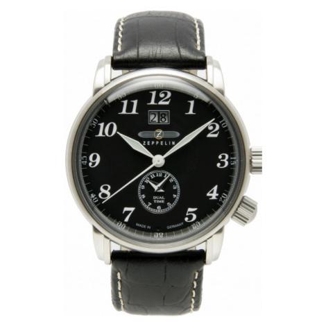 Mens Zeppelin LZ127 Graf Zeppelin Dual Time Watch 7644-2