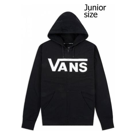 sweatshirt Vans Classic II Zip - Black/White - boy´s