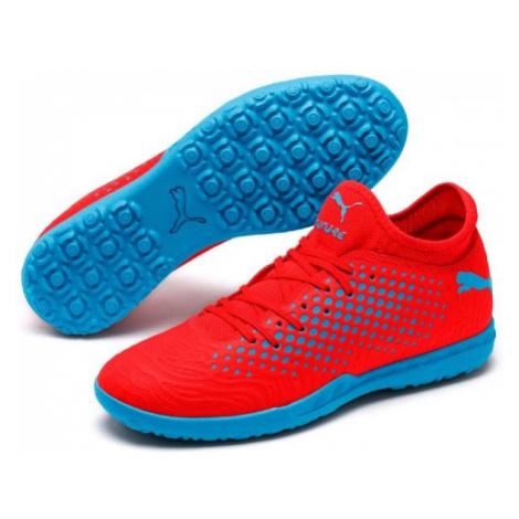 Puma FUTURE 19.4 TT red - Men's turf football boots