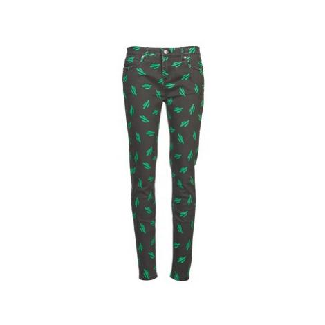 American Retro TINA women's Skinny Jeans in Green