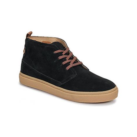 Faguo ELDER SUEDE men's Shoes (High-top Trainers) in Black