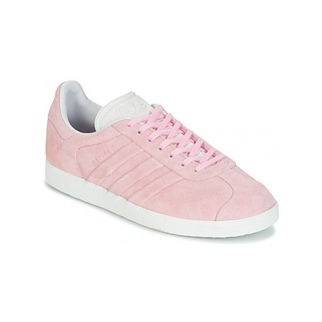 Adidas GAZELLE STITCH women's Shoes (Trainers) in Pink