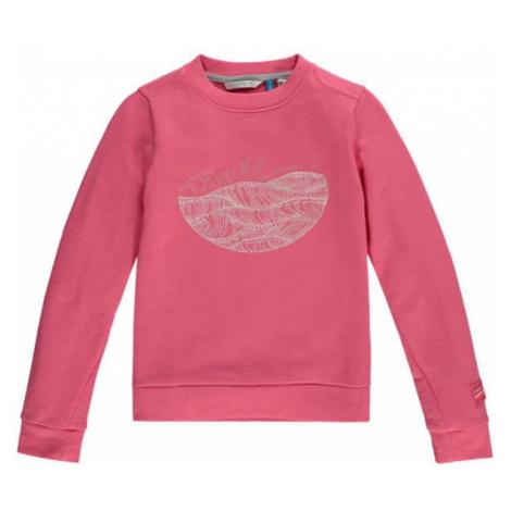 O'Neill LG HARPER CREW SWEATSHIRT pink - Girl's sweatshirt