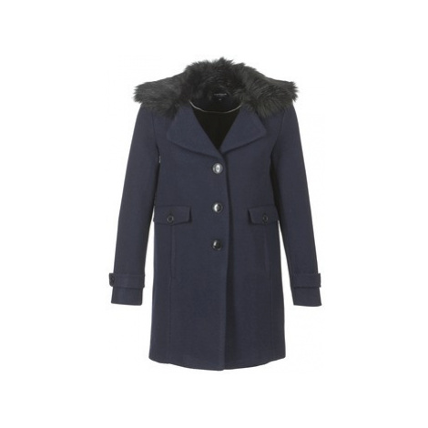 Morgan GBENY women's Coat in Blue