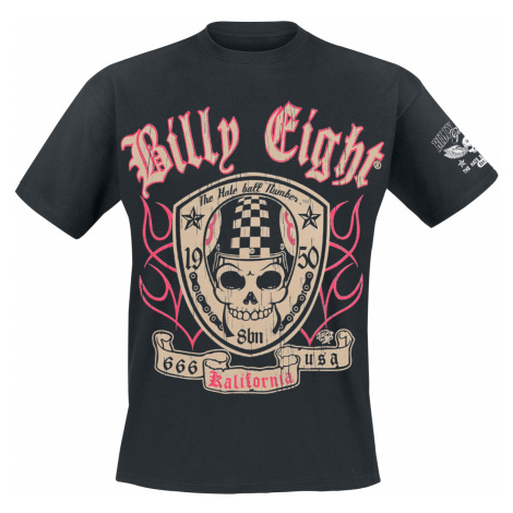 Billy Eight - Kalifornia - T-Shirt - black