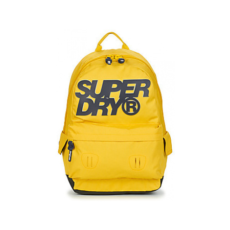 Superdry HIGH BUILD LINEMAN MONTANA men's Backpack in Yellow