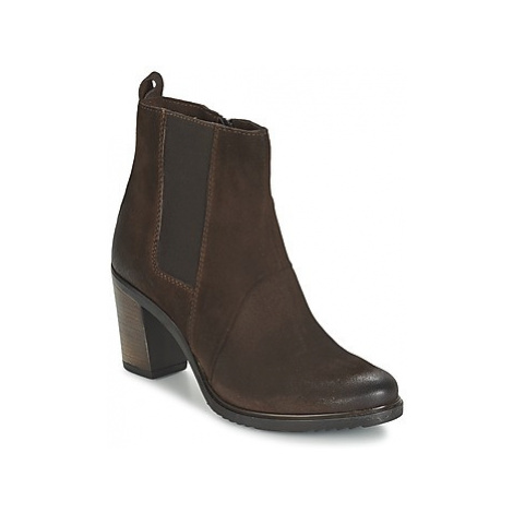 Dream in Green FHIBLI women's Low Ankle Boots in Brown