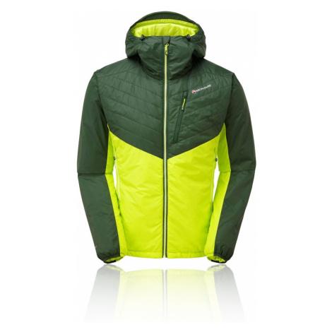 Green men's outdoor jackets