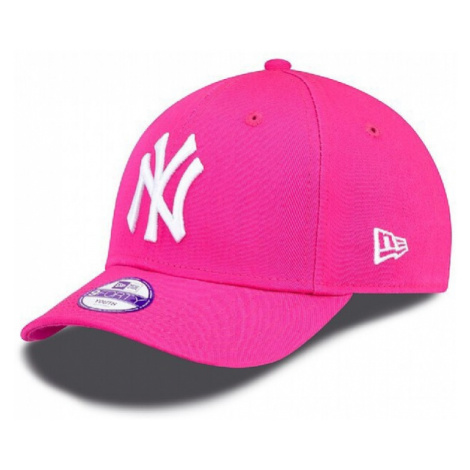 Kids NEW ERA 9FORTY YOUTH MLB LEAGUE BASIC NEW YORK YANKEES PINK WHITE