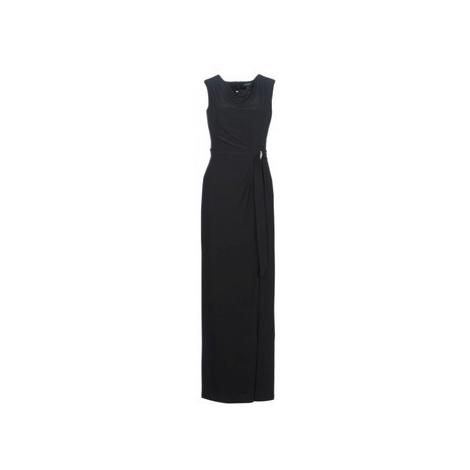 Lauren Ralph Lauren CAP SLEEVE JERSEY EVENING DRESS women's Long Dress in Black