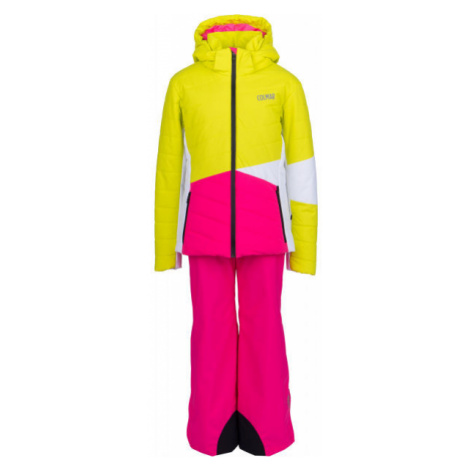 Colmar JR GIRL 2-PC-SUIT pink - Girls' ski set