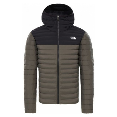 The North Face STRETCH DOWN HOODIE dark green - Men's feather jacket