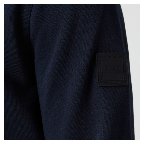 BOSS Casual Men's Walkup 1 Relaxed Fit Sweatshirt - Dark Blue Hugo Boss