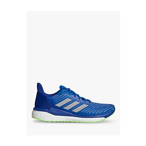 Adidas Solar Drive 19 Men's Running Shoes, Glory Blue/Grey Two/Signal Green