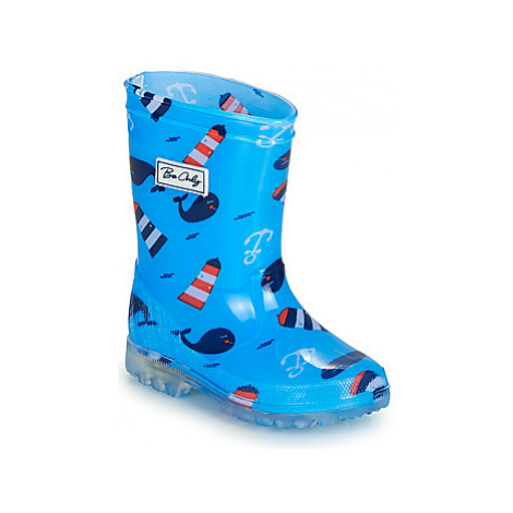 Be Only BALEINO boys's Children's Wellington Boots in Blue