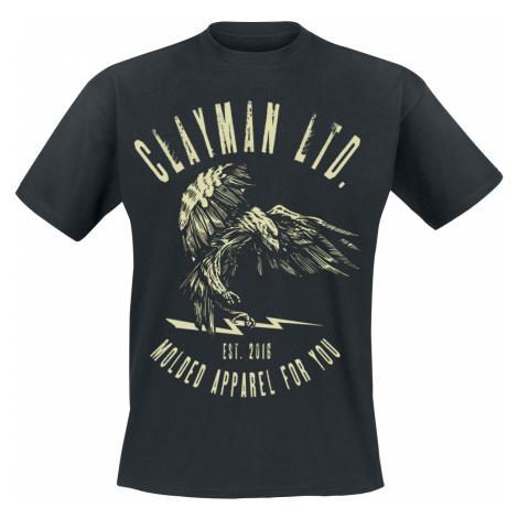 Clayman Ltd. - Death From Above - T-Shirt - black