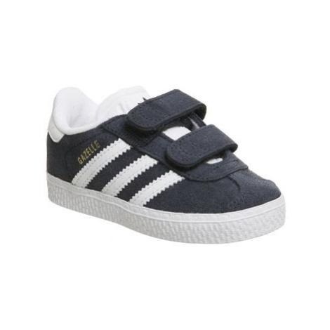 Adidas Gazelle 2 Infant Trainers COLLEGIATE NAVY