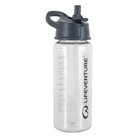 Lifeventure 750ml Flip Top Water Bottle-Clear