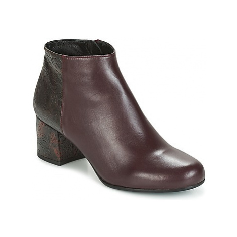 Paco Gil GENOVA women's Low Ankle Boots in Bordeaux