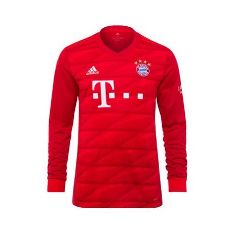 FC Bayern Home Long Sleeve Shirt 2019-20 Adidas