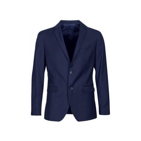 Blue suits and suit jackets