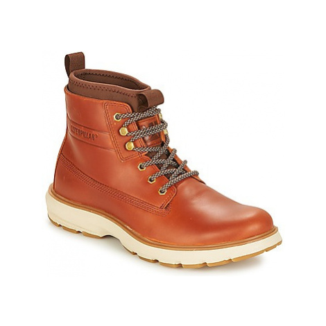 Caterpillar STATION men's Mid Boots in Brown