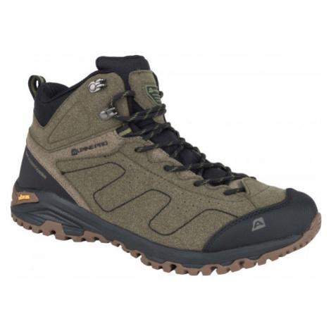 ALPINE PRO BORROR brown - Men's trekking shoes