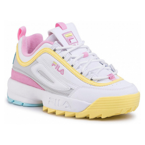 shoes Fila Disruptor CB Low - White/Limelight - women´s