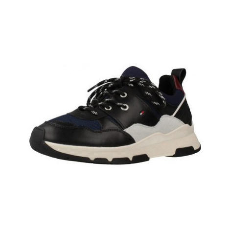Tommy Hilfiger CHUNKY women's Shoes (Trainers) in Blue