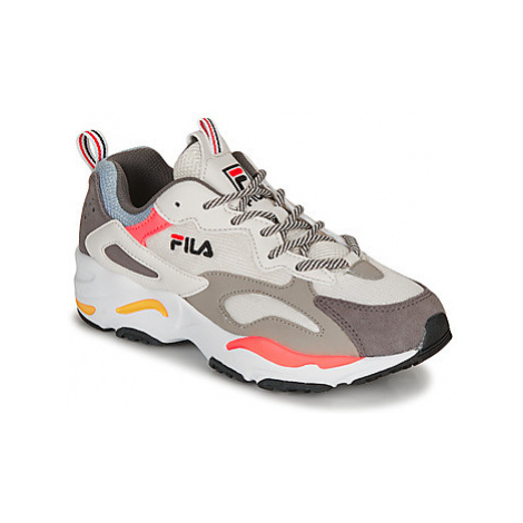Fila RAY TRACER WMN women's Shoes (Trainers) in White