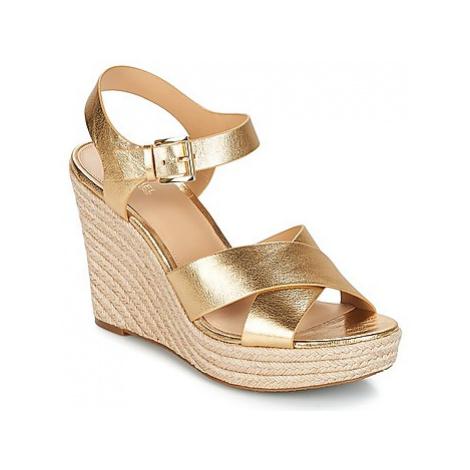 MICHAEL Michael Kors KADY women's Sandals in Gold