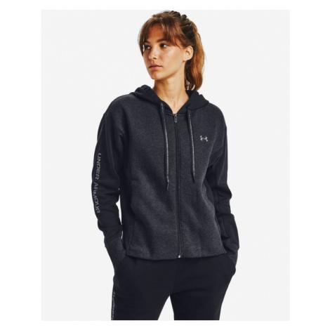 Under Armour Rival Fleece Embroidered Full Zip Sweatshirt Black