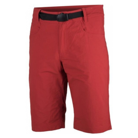 Red men's sports shorts