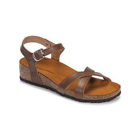 Dream in Green JAKALFRED women's Sandals in Brown