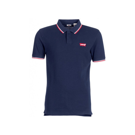 Levis SS MODERN HM POLO men's Polo shirt in Blue Levi´s