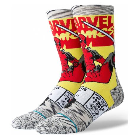 socks Stance Deadpool Comic - Gray