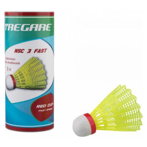 Tregare NSCW 3 FAST YELLOW - Badminton shuttlecocks