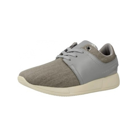 Tommy Hilfiger SAMANTHA 2C4 women's Shoes (Trainers) in Grey