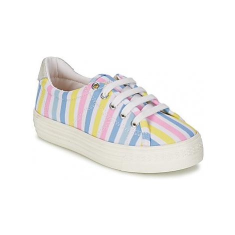 Shwik STEP LO CUT girls's Children's Shoes (Trainers) in Multicolour