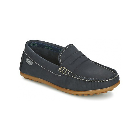 Aster MOCADI girls's Children's Loafers / Casual Shoes in Blue