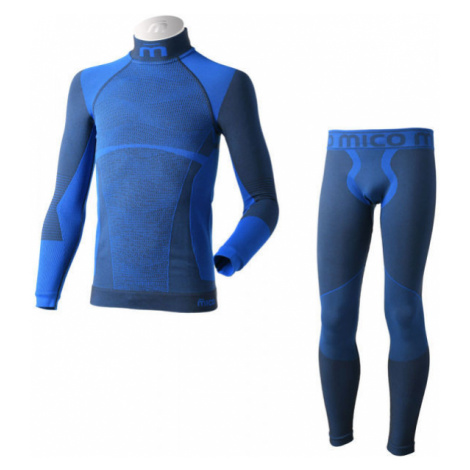 Mico KIDS SHIRT + TIGHT PANTS WARM - Seamless functional underwear set