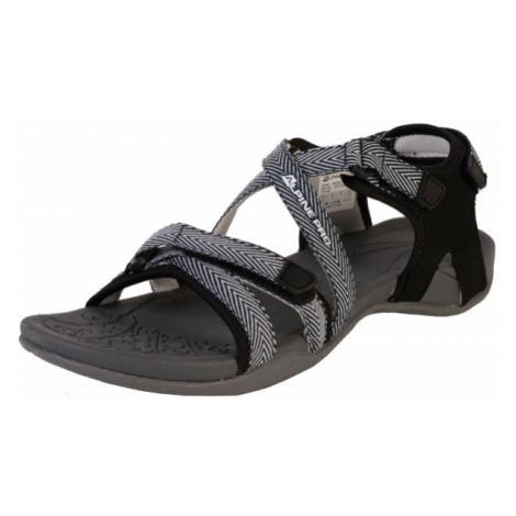 ALPINE PRO BRERA gray - Women's summer shoes