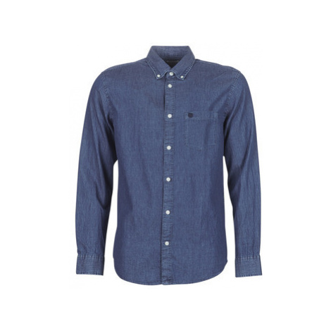 Selected SLHREGCOLLECT men's Long sleeved Shirt in Blue